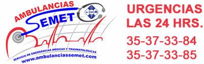 Servicio de Ambulancias CDMX